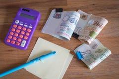 Singapore money / dollars Stock Photography