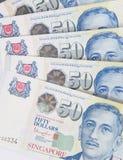 Singapore money Royalty Free Stock Images