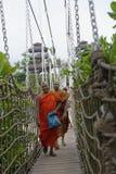 Singapore Monks Stock Photo