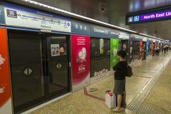 Singapore MRT Royalty Free Stock Photo