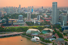 Singapore multicolored Stock Images