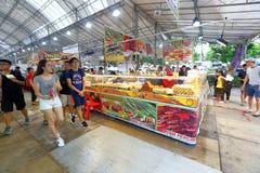 Singapore: Nachtmarkt Pasar Malam Stock Foto's
