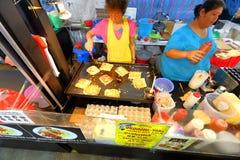 Singapore: Nachtmarkt Pasar Malam Stock Fotografie