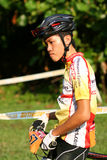 Singapore National cycling Championship 2009. Singapore National Mountain biking Championship 2009 royalty free stock photography