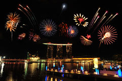 Singapore National Day Royalty Free Stock Photography