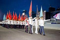 Singapore National Day Parade Rehearsal Stock Photo