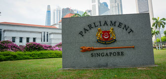 Singapore national emblem Royalty Free Stock Images
