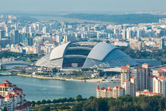 Singapore National Stadium. Royalty Free Stock Photography