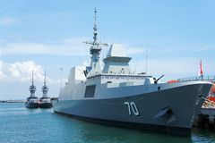 Singapore navy open day Stock Photography