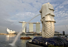 Singapore new cityscape Stock Photos