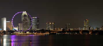 SINGAPORE NIGHT 7 Royalty Free Stock Photos