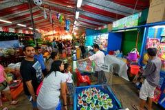 Singapore: Night market Pasar Malam Royalty Free Stock Image