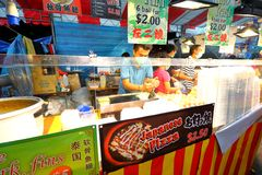 Singapore: Night market Pasar Malam Royalty Free Stock Photography