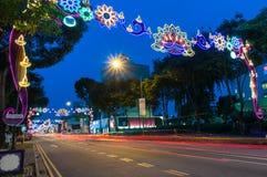 SINGAPORE - NOVEMBER 10 Arkivbilder