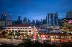 SINGAPORE - NOVEMBER 28 arkivbild