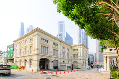SINGAPORE - OCT 19, 2014: Aziatisch Beschavingenmuseum in Singapor royalty-vrije stock foto's
