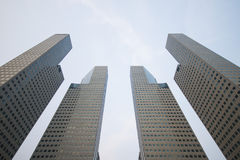Free SINGAPORE, OCTOBER 13, 2015: Four Towers Of Suntec City Office B Royalty Free Stock Photos - 62077518