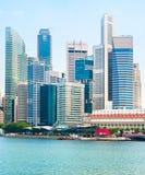 Singapore office building Stock Photos