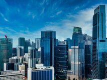 Free Singapore Office Buildings Abstract Architecture View Royalty Free Stock Photography - 209365657