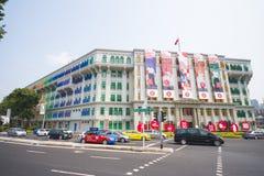 SINGAPORE, 13 OKTOBER, 2015: kleurrijk van MICA die was het kn bouwen Royalty-vrije Stock Fotografie