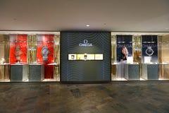 Singapore: Omega Royalty-vrije Stock Afbeeldingen