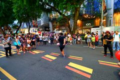 Singapore : Orchard Road Royalty Free Stock Photos