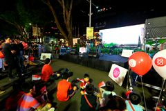 Singapore : Orchard Road Stock Photography