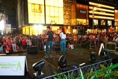Singapore : Orchard Road Stock Photo