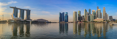 Singapore panorama cityscape Royalty Free Stock Images