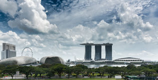 Singapore Panorama Stock Photos
