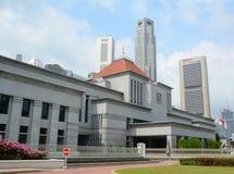 Singapore parlamentbyggnad Fotografering för Bildbyråer