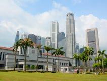 Singapore parlamentbyggnad Arkivbilder