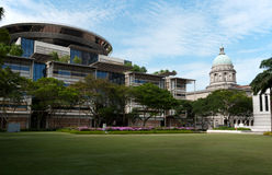 Singapore parliament house Stock Images