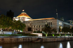 Singapore Parliament Royalty Free Stock Photography