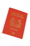 Singapore passport Stock Images