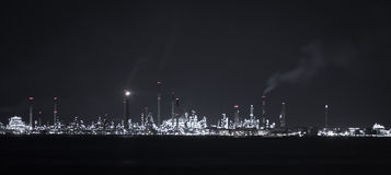 Singapore petoleum refinery Royalty Free Stock Photography