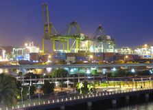 Singapore port Royaltyfria Bilder