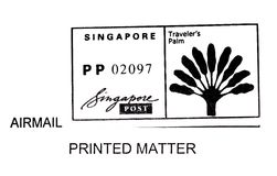 Singapore postage stamp stock images