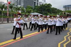Singapore President's changing of guards parade Royalty Free Stock Image