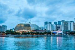 Singapore promenad Royaltyfri Foto
