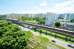 Singapore public housing Royalty Free Stock Photography
