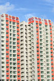 Singapore Public Housing. New Singaporean Public Housing Blocks Before Occupation Royalty Free Stock Images