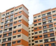 Singapore Public Housing Blocks Stock Photos
