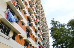 Singapore Public Housing Blocks Stock Image