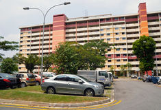 Singapore Public Housing Blocks Royalty Free Stock Photography