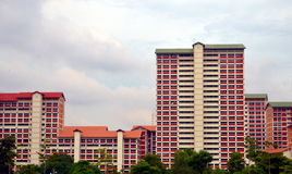 Singapore public housing royalty free stock photos