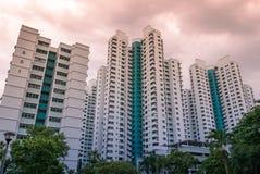 Singapore public residential housing apartment in Bukit Panjang. Royalty Free Stock Image