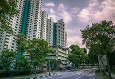 Singapore public residential housing apartment in Bukit Panjang. Royalty Free Stock Photos