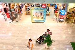 Singapore: Quicksilver retail boutique outlet Royalty Free Stock Images