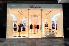 Singapore: Röda Valentino Royaltyfria Bilder